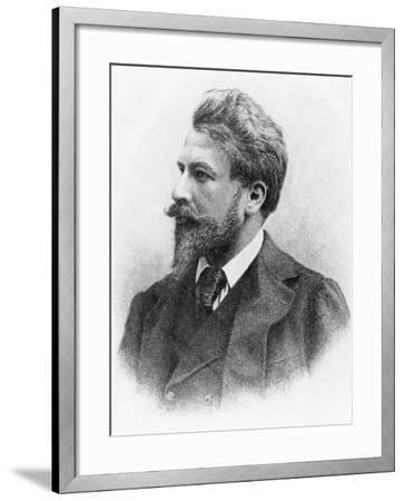 Portrait of Arthur Schnitzler--Framed Giclee Print