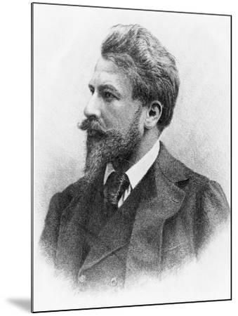 Portrait of Arthur Schnitzler--Mounted Giclee Print