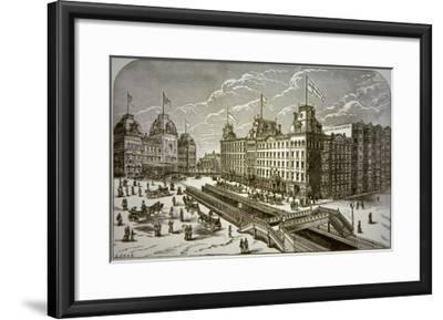 The Grand Union Hotel, New York City--Framed Giclee Print