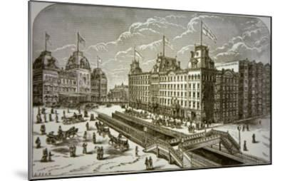 The Grand Union Hotel, New York City--Mounted Giclee Print