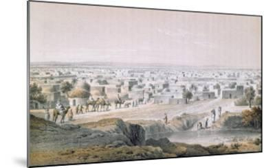 Kano, Nigeria, in 1851, 'Travels and Discoveries in North and Central Africa' by Heinrich Barth-Johann Martin Bernatz-Mounted Giclee Print