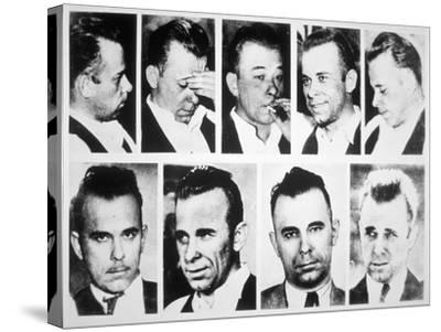 John Dillinger--Stretched Canvas Print
