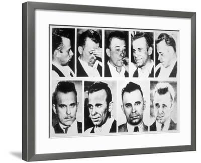 John Dillinger--Framed Giclee Print