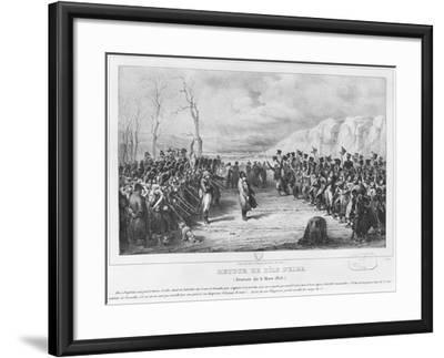 Napoleon I-Joseph-Louis Hippolyte Bellange-Framed Giclee Print