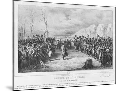Napoleon I-Joseph-Louis Hippolyte Bellange-Mounted Giclee Print
