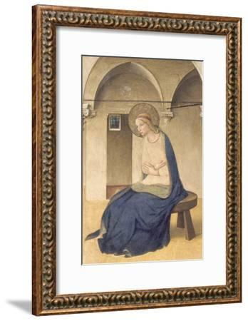 The Annunciation, C.1438-45-Fra Angelico-Framed Giclee Print