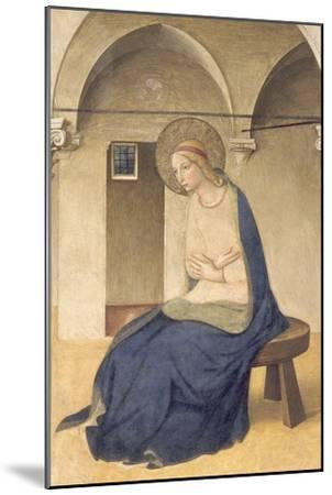 The Annunciation, C.1438-45-Fra Angelico-Mounted Giclee Print