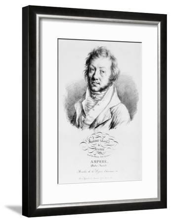 Portrait of Andre-Marie Ampere--Framed Giclee Print