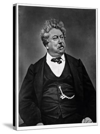Alexandre Dumas Pere--Stretched Canvas Print