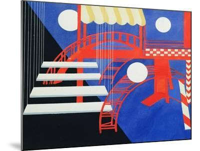 Stage Design Revue for the Edition Decors De Theatre, 1927-Alexandra Exter-Mounted Giclee Print