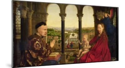 The Rolin Madonna-Jan van Eyck-Mounted Giclee Print