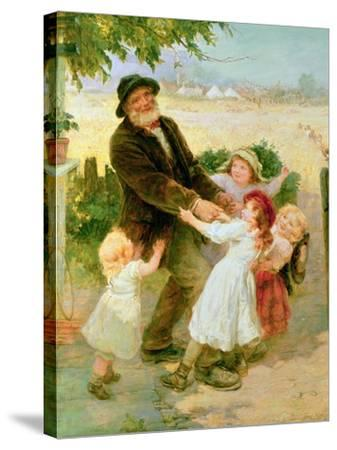 Going to the Fair-Frederick Morgan-Stretched Canvas Print