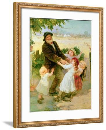 Going to the Fair-Frederick Morgan-Framed Giclee Print