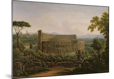 View of the Colosseum from the Palatine Hill, Rome, 1816-Fedor Mikhailovich Matveev-Mounted Giclee Print