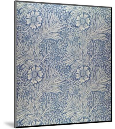 Marigold' Wallpaper Design, 1875-William Morris-Mounted Premium Giclee Print
