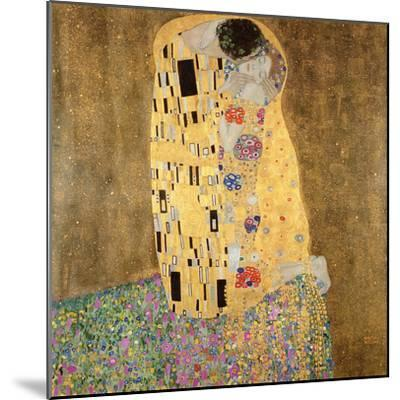 The Kiss, 1907-08-Gustav Klimt-Mounted Giclee Print