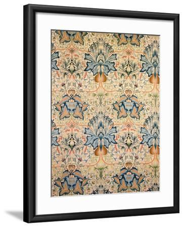 The Artichoke Embroidered Hanging, Worked by Mrs Godman, 1877-William Morris-Framed Giclee Print