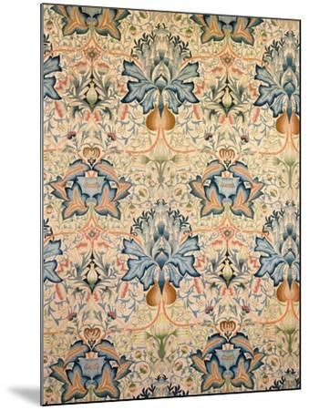 The Artichoke Embroidered Hanging, Worked by Mrs Godman, 1877-William Morris-Mounted Giclee Print