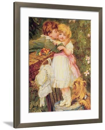 Over the Garden Wall-Frederick Morgan-Framed Giclee Print