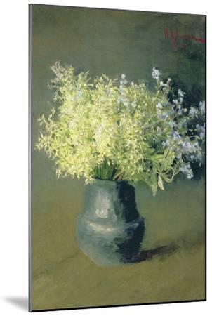 Wild Lilacs and Forget-Me-Nots, 1889-Isaak Ilyich Levitan-Mounted Giclee Print