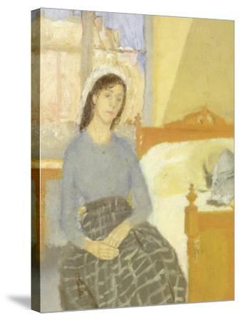 The Artist in her Room in Paris-Gwen John-Stretched Canvas Print