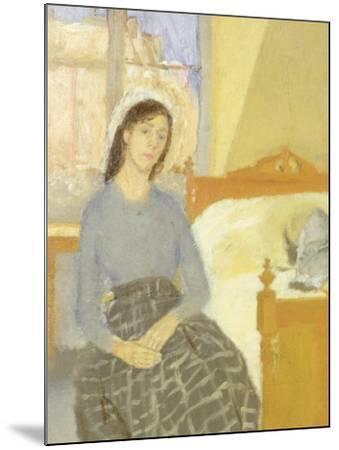 The Artist in her Room in Paris-Gwen John-Mounted Giclee Print