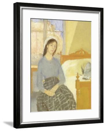 The Artist in her Room in Paris-Gwen John-Framed Giclee Print