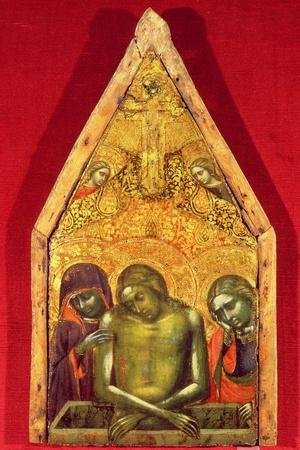 Pieta-Barnaba Da Modena-Stretched Canvas Print