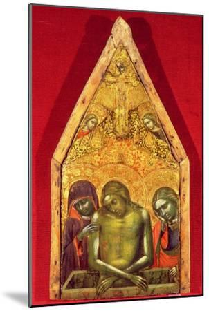 Pieta-Barnaba Da Modena-Mounted Giclee Print