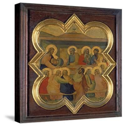 The Last Supper-Taddeo Gaddi-Stretched Canvas Print