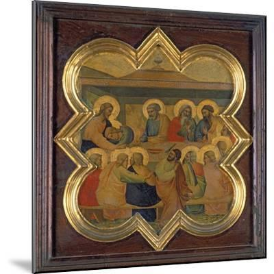 The Last Supper-Taddeo Gaddi-Mounted Giclee Print