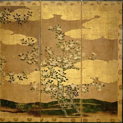 Flowers of Camellias--Framed Giclee Print
