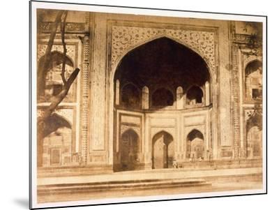 Outside the Taj Mahal, 1858-John Murray-Mounted Giclee Print