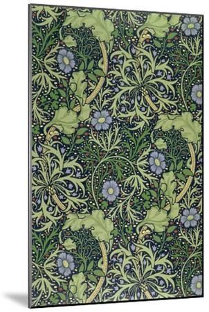 Seaweed Wallpaper Design, printed by John Henry Dearle-William Morris-Mounted Premium Giclee Print