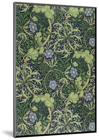 Seaweed Wallpaper Design, printed by John Henry Dearle-William Morris-Mounted Giclee Print