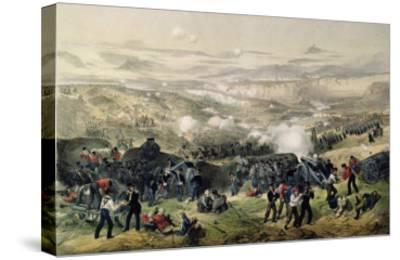 The Battle of Inkerman, 5th November 1854, 1855-Andrew Maclure-Stretched Canvas Print