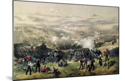 The Battle of Inkerman, 5th November 1854, 1855-Andrew Maclure-Mounted Giclee Print