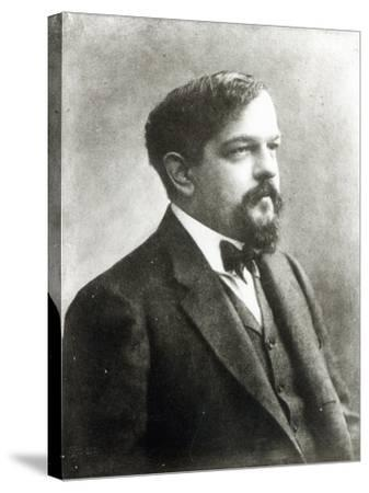 Claude Debussy, c.1908-Paul Nadar-Stretched Canvas Print