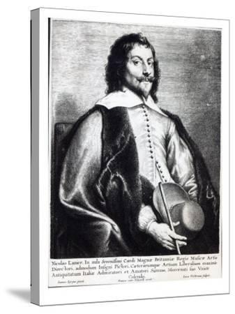Nicholas Lanier, Engraved by Lucas Vostermans-Jan The Elder Lievens-Stretched Canvas Print