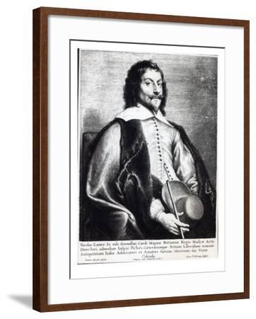 Nicholas Lanier, Engraved by Lucas Vostermans-Jan The Elder Lievens-Framed Giclee Print