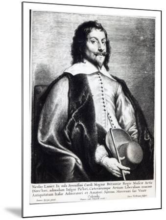 Nicholas Lanier, Engraved by Lucas Vostermans-Jan The Elder Lievens-Mounted Giclee Print