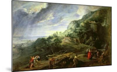 Ulysses on the Phaecian Island-Peter Paul Rubens-Mounted Giclee Print
