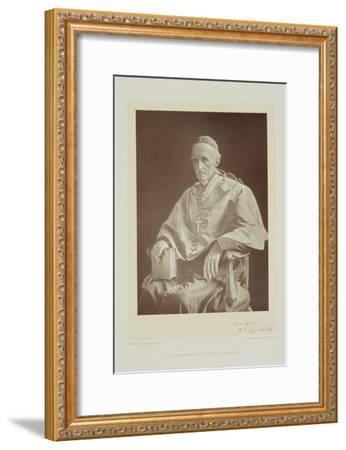 Portrait of Cardinal Henry Edward Manning-Walery Rzewuski-Framed Giclee Print