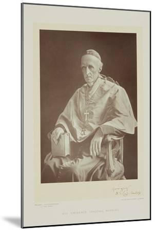 Portrait of Cardinal Henry Edward Manning-Walery Rzewuski-Mounted Giclee Print