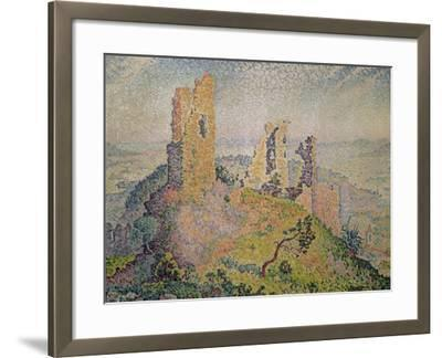 Landscape with a Ruined Castle-Paul Signac-Framed Giclee Print