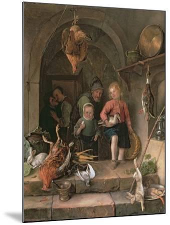 The Game Larder-Jan Havicksz Steen-Mounted Giclee Print