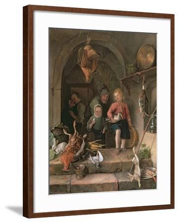The Game Larder-Jan Havicksz Steen-Framed Giclee Print