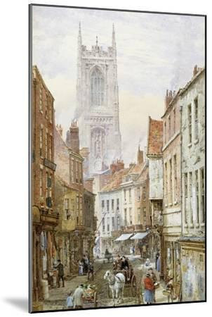 A View of Irongate, Derby-Louise J^ Rayner-Mounted Giclee Print