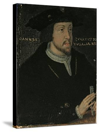 King John I 'the Great', or 'the Bastard' of Portugal, late 16th century--Stretched Canvas Print