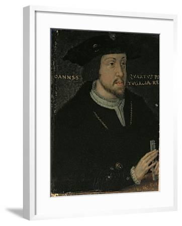 King John I 'the Great', or 'the Bastard' of Portugal, late 16th century--Framed Giclee Print